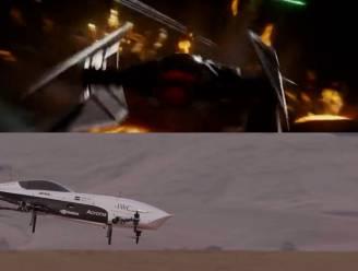 Star Wars in het echt: vliegende racewagen maakt testvlucht