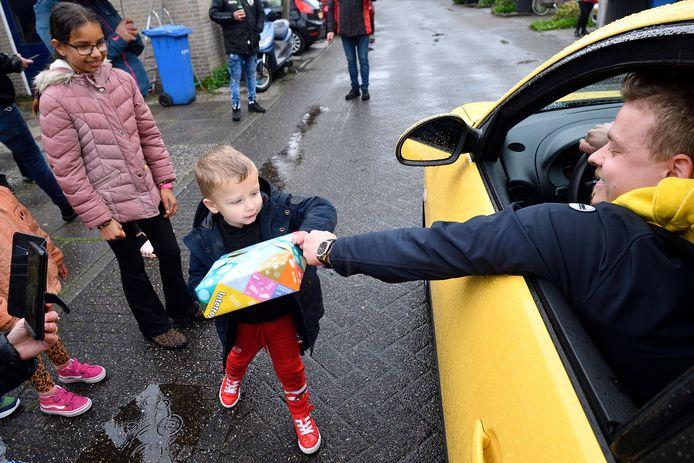 De kleine Jaxx uit Amersfoort beleefde zaterdag de verjaardag van zijn leven.