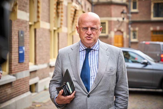 Demissionair minister Ferd Grapperhaus (Veiligheid en Justitie).