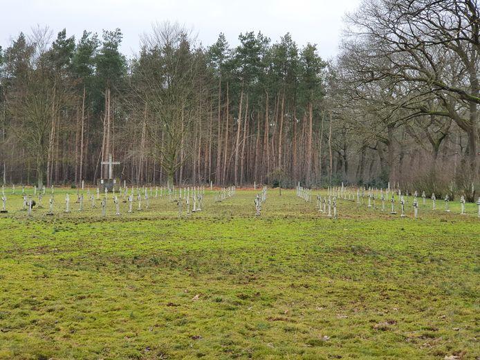 De begraafplaats van Wortel-Kolonie.