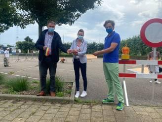 """Mobiel skatepark nog tot 31 augustus in Schoonderbuken: """"We willen aan de vraag en de noden van onze inwoners tegemoet komen en hebben geïnvesteerd in een mobiel skate park"""""""