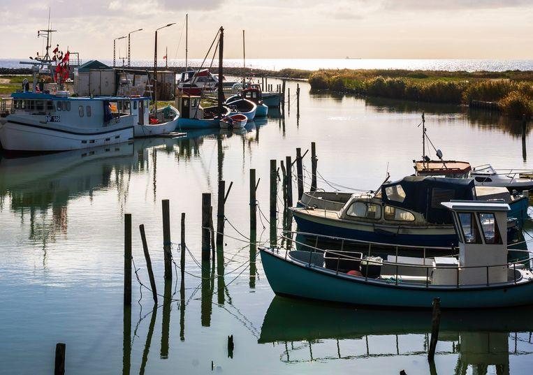 Oostzeeroute Denemarken, haventje bij Lolland. Beeld Jessica de Korte