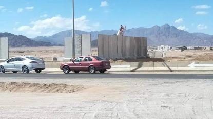 Bouw van 'muur' rond vakantieoord Sharm-el-Sheikh doet wenkbrauwen fronsen