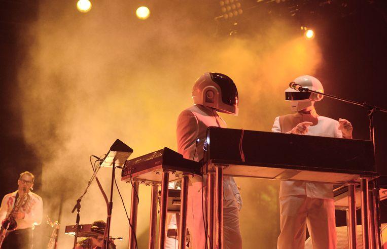 Daft Punk. Beeld FilmMagic