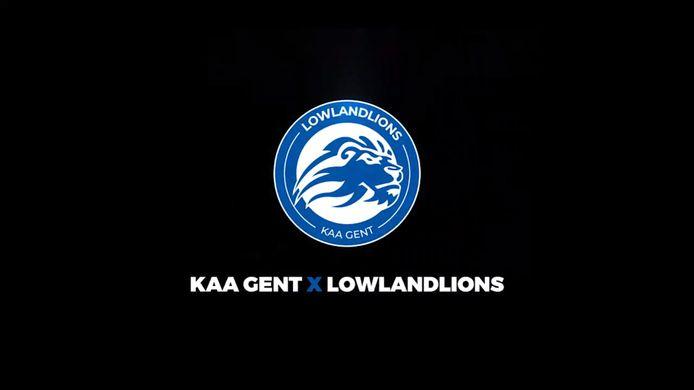 Esportsorganisatie LowLandLions en de Belgische sportclub KAA Gent slaan de handen ineen. De bedrijven gaan samenwerken en hopen elkaars expertise te kunnen benutten.
