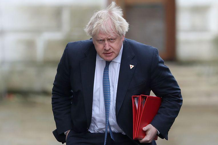 Voormalig Brits minister van Buitenlandse Zaken Boris Johnson. Beeld AFP