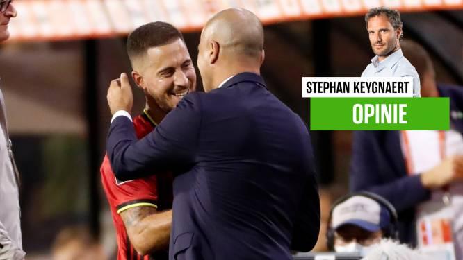 """Onze chef voetbal ziet hoe Hazard en Courtois gezellig feestje opluisteren: """"Het viel op: Brussel heeft de Rode Duivels en hun bondscoach vergeven"""""""