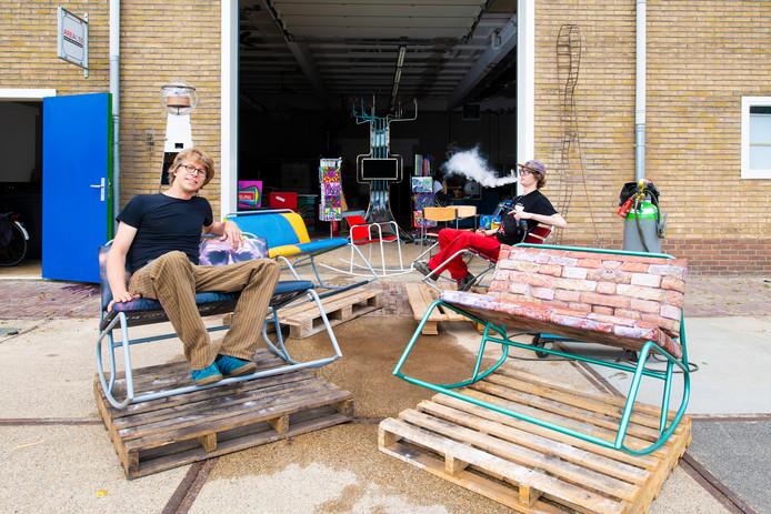 Jorik Barteling (links) heeft met onder andere Jasper Lubberts de Mijmer ontwikkeld.
