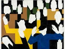 Expositie over 'rechte lijnen' van Hendrik Valk in Jan Cunen Oss