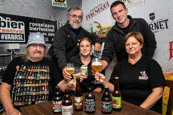De organisatoren van het 5de bierfestival #VANRSL klinken alvast op een mooie jubileumeditie.