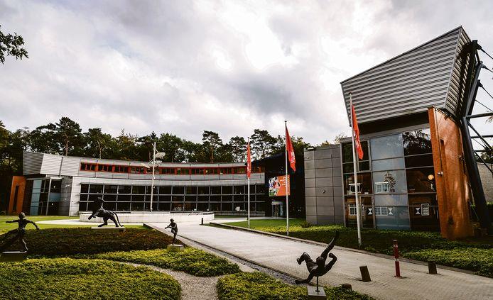 Het bondskantoor van de KNVB in Zeist.