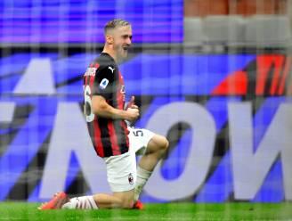 Alexis Saelemaekers scoort voor AC Milan, maar kan eerste puntenverlies van het seizoen niet vermijden