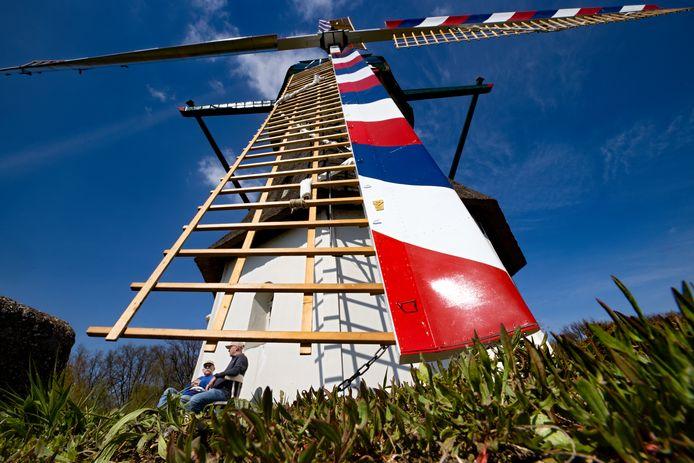 De molen in Milheeze is gerenoveerd,