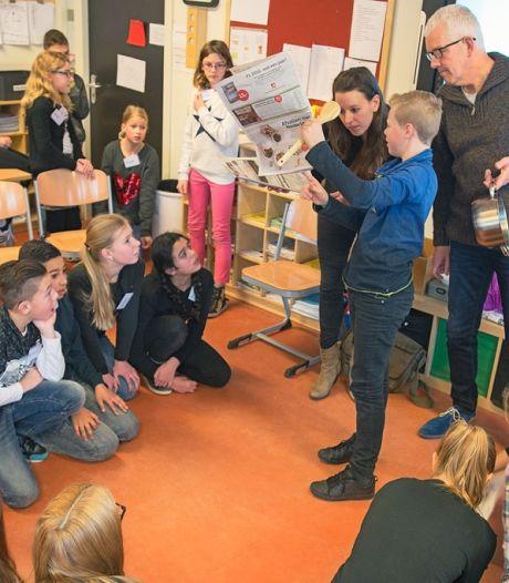 Osse leerlingen krijgen lesje van 'echte journalist'