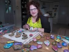 Happy Stones duiken op in Ven-Zelderheide 'Mensen worden echt gelukkig van een simpel steentje'