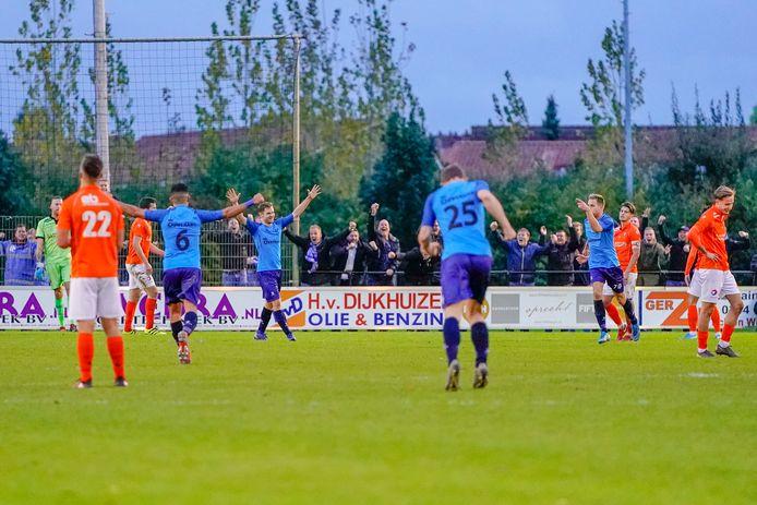 Quick Boys won afgelopen zaterdag met 0-2 op De Lok.