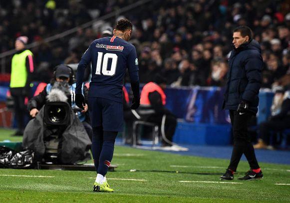 Neymar blaast de aftocht. Wanneer mag hij eindelijk vertrekken bij PSG?