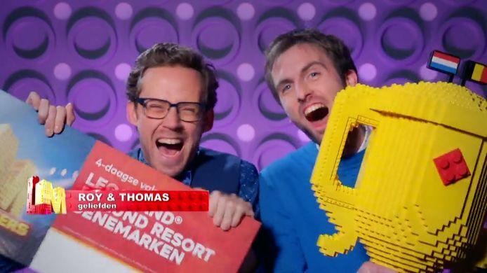 Belgisch duo Thomas en Roy wint LEGO Masters 2021