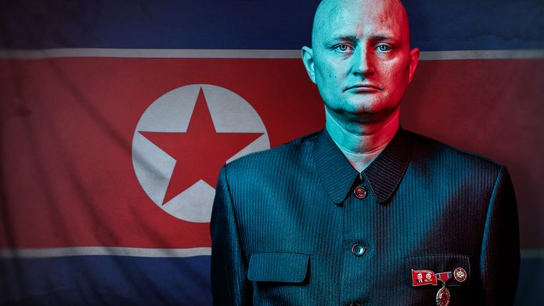 Ulrich Larsen kon niet meer als kok werken en infiltreerde dan in Noord-Korea. Beeld DR