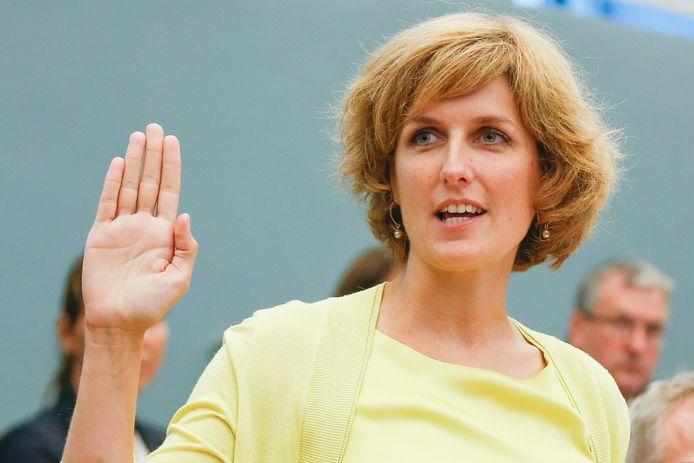 Céline Tellier, ministre de l'Environnement, de la Nature, du Bien-être animal et de la Rénovation rurale (Ecolo).