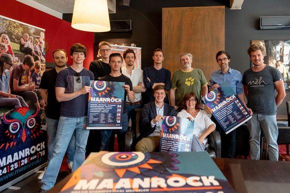 De organisatoren van Maanrock 2018 pakken uit met drie nieuwe locaties.