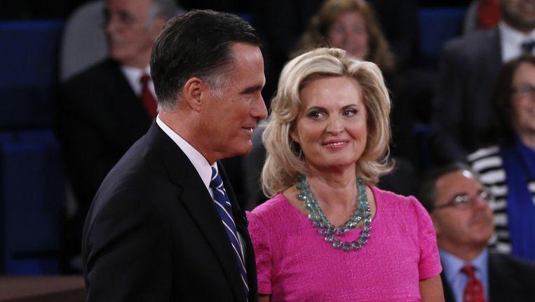 Ann en Mitt Romney Beeld getty