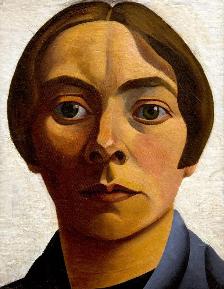 Zelfportret van de Nederlandse schilderes Charley Toorop (1928). Beeld Alamy Stock Photo
