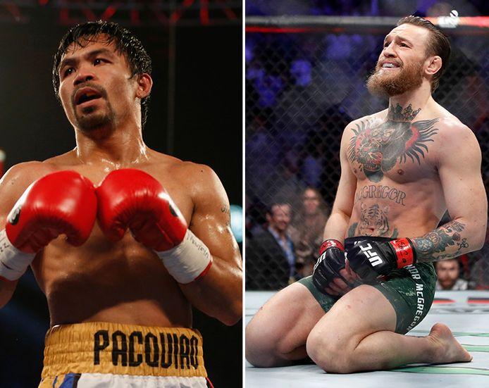 Manny Pacquioa en Conor McGregor.