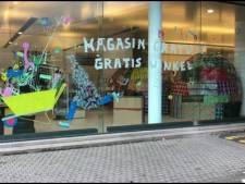 """Dans ce magasin bruxellois, tout est gratuit en échange d'un """"merci"""""""