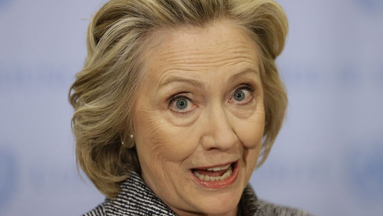 Hillary Clinton Beeld ap