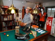 Wolfersveen-voorzitter Gradus Eenink laat zijn club niet in de steek