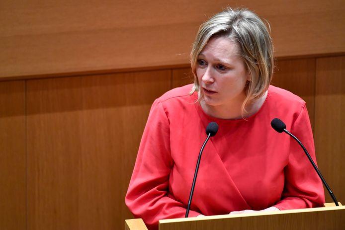 Bénédicte Linard, ministre de la Culture de la Fédération Wallonie-Bruxelles.