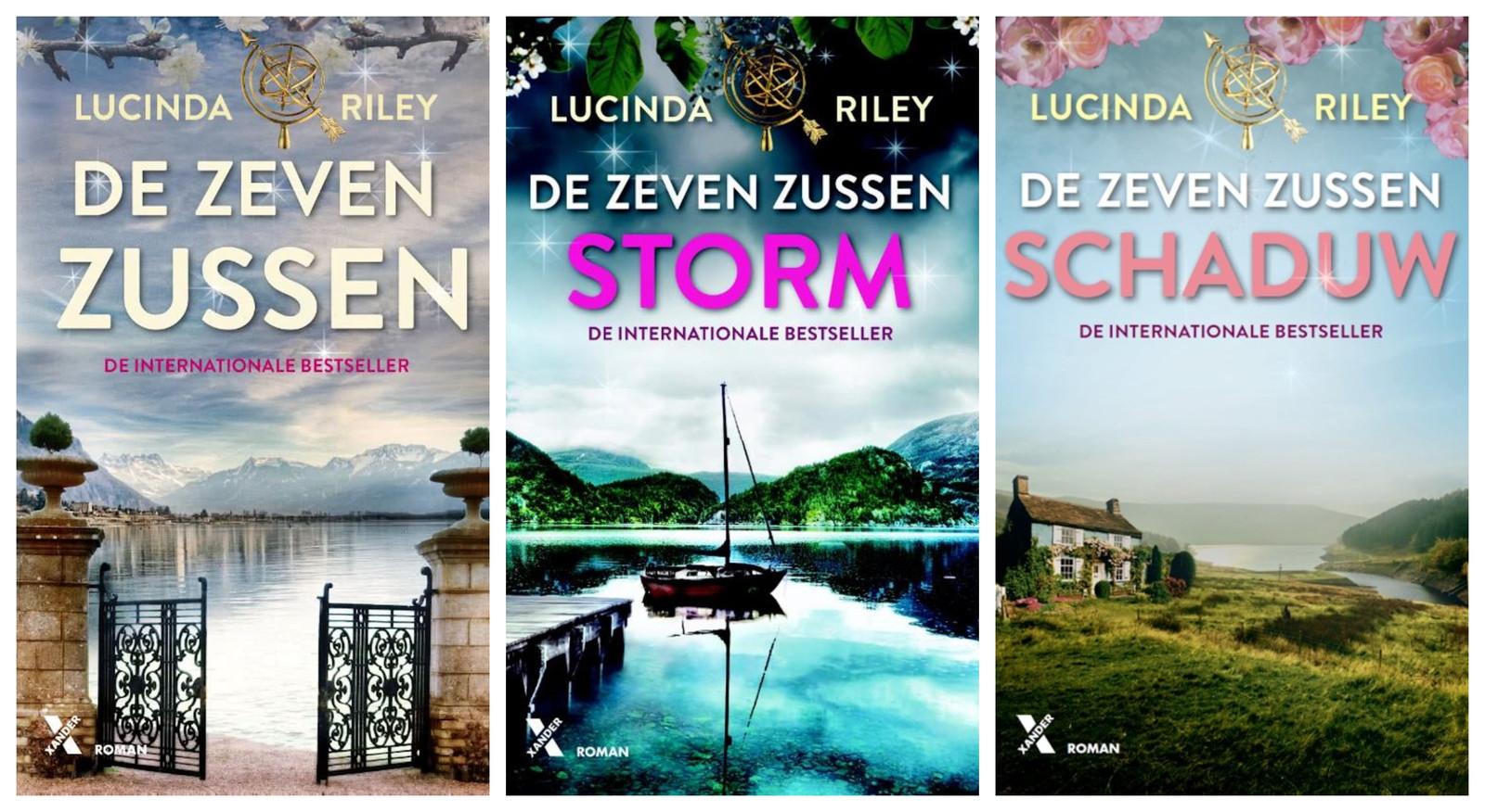 Boekcovers van 'De zeven zussen'