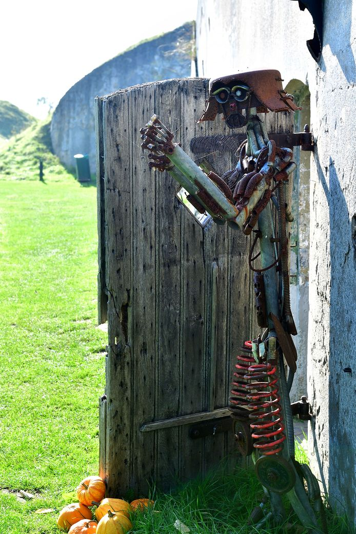 Een knipoog naar het verleden van Fort Sabina.