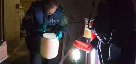 Arrestatieteam valt drugslab crystal meth binnen in de Betuwe