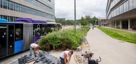 Omstreden fietspad op Wageningen Campus nog niet van de baan