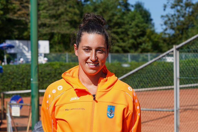Rosalie van der Hoek schakelde razendsnel om van de US Open naar de eredivisie gemengd.