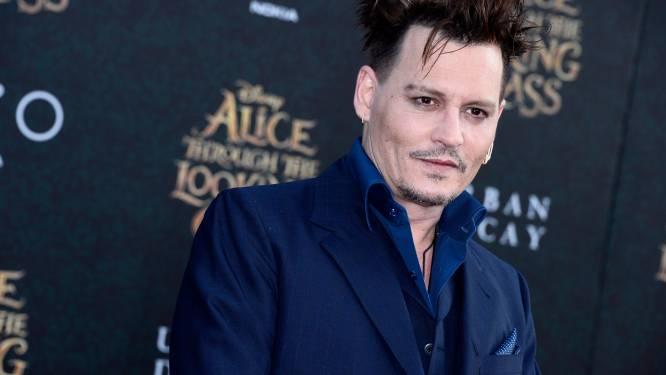 Johnny Depp verandert tattoo over Amber