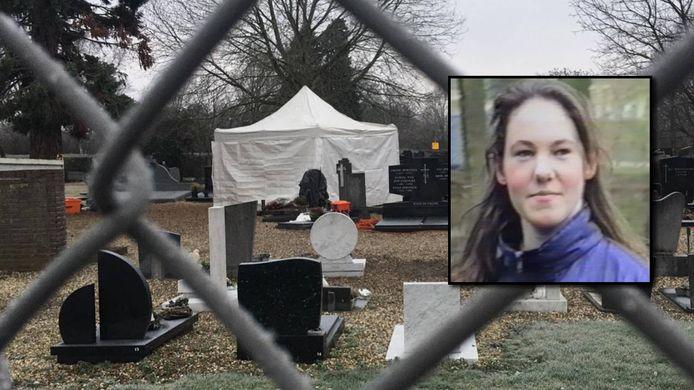 Zoekactie op begraafplaats Maastricht in zaak Tanja Groen