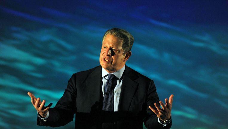 Klimaatgoeroe Al Gore tegen de wereldleiders in New York: