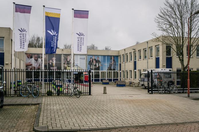 De ROC-opleiding Horeca en Toerisme in Nieuwegein. Hier volgde Roos uit Vianen tot vorig jaar een opleiding.