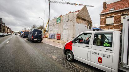Mortiergranaat gevonden bij werken op De Klokke: geen gevaar voor de omgeving