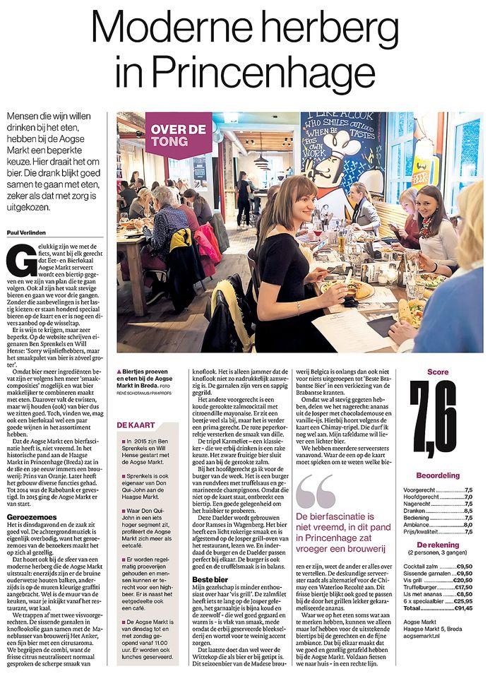 Recensie Aogse Markt in Breda