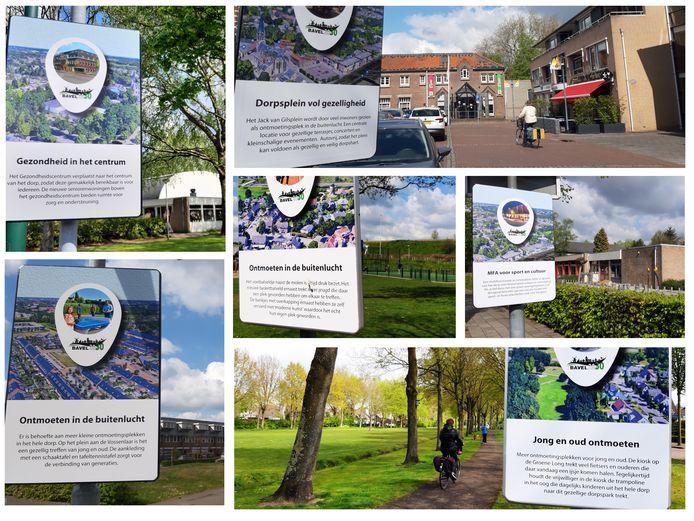 Een serie bordjes verspreid door Bavel geven bewoners een blik in de toekomst. Er staan wensen op van bewoners over hoe Bavel er in de toekomst kan uitzien. De wensen zijn opgenomen in de Toekomstvisie Bavel 2030.