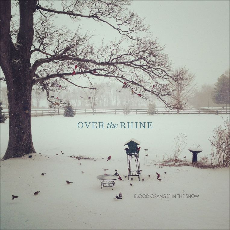 null Beeld Albumhoes Blood Oranges in the Snow