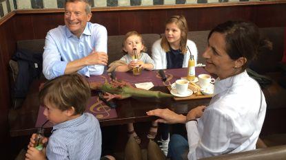 """Johan Sauwens: """"Pannenkoeken eten met de kleinkinderen"""""""