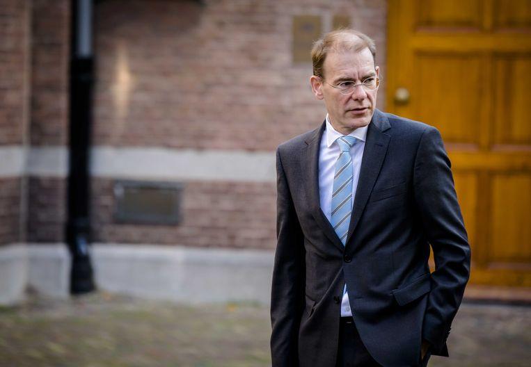 Staatssecretaris Menno Snel van financiën. Beeld ANP