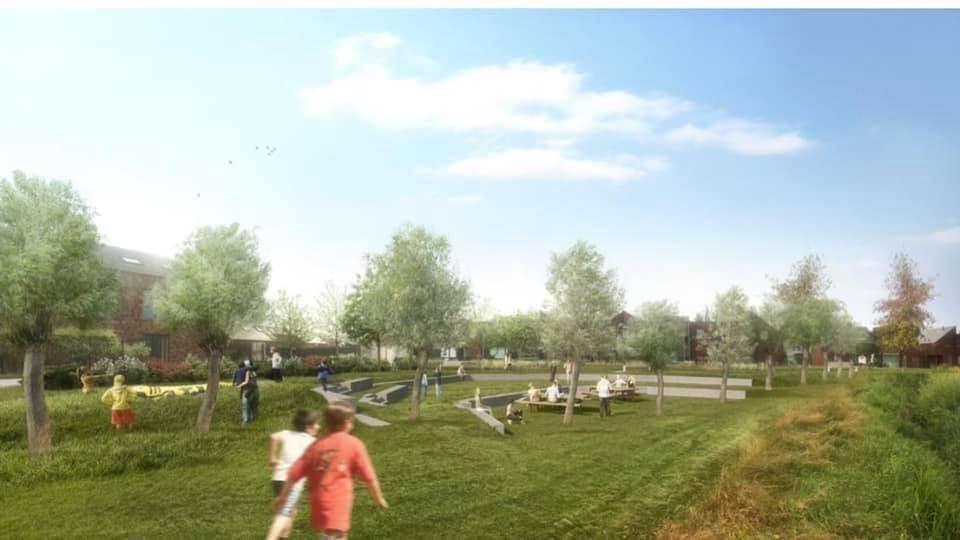 Een toekomstbeeld van het park