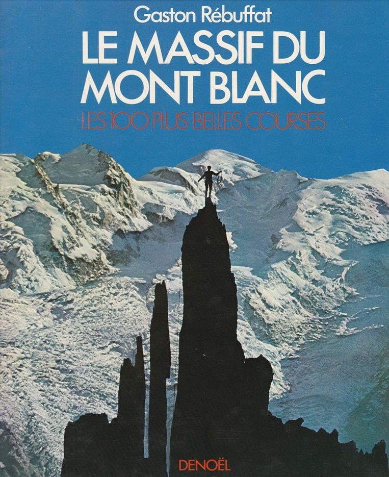 Le Massif du Mont Blanc, het boek waarop de wetenschappers hun onderzoek baseerden. Beeld Le Massif du Mont Blanc