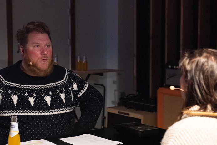 Dominique Van Malder van Radio Gaga doet mee.
